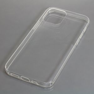 OTB TPU Case kompatibel zu Apple iPhone 12 voll transparent