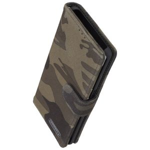 COMMANDER BOOK CASE ELITE für Samsung Galaxy A21s - Camouflage