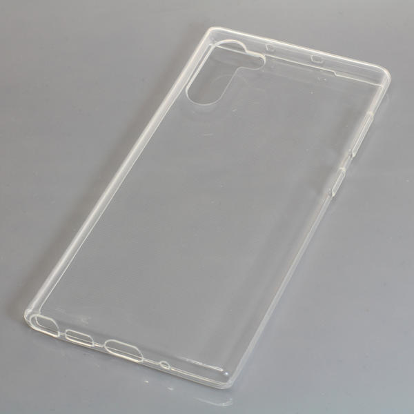 OTB TPU Case kompatibel zu Samsung Galaxy Note 10 voll transparent
