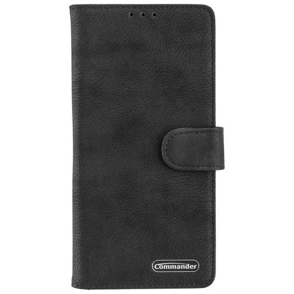 COMMANDER Book Case ELITE für Samsung Galaxy Note 10 Plus - Black